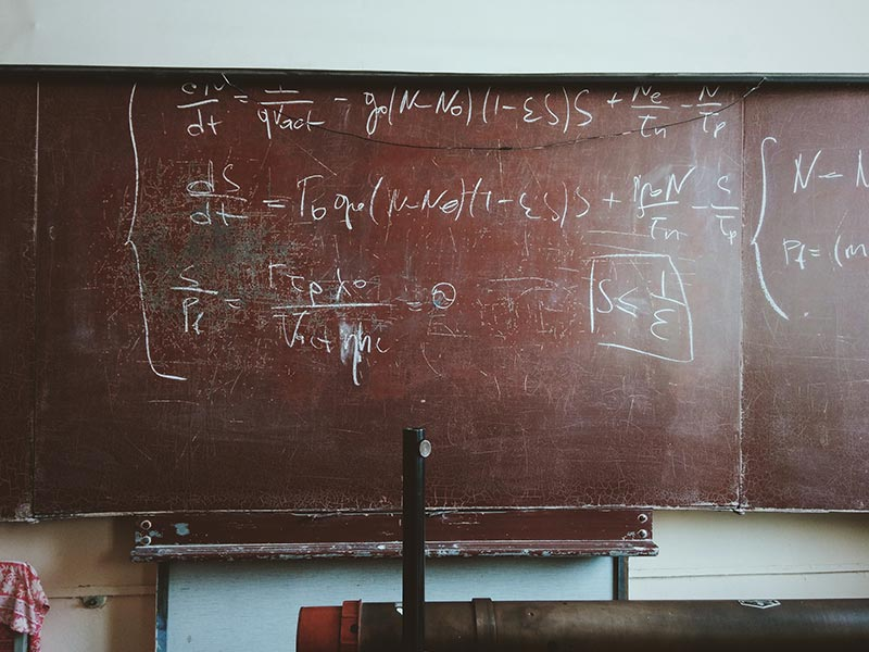 Picture of chalkboard